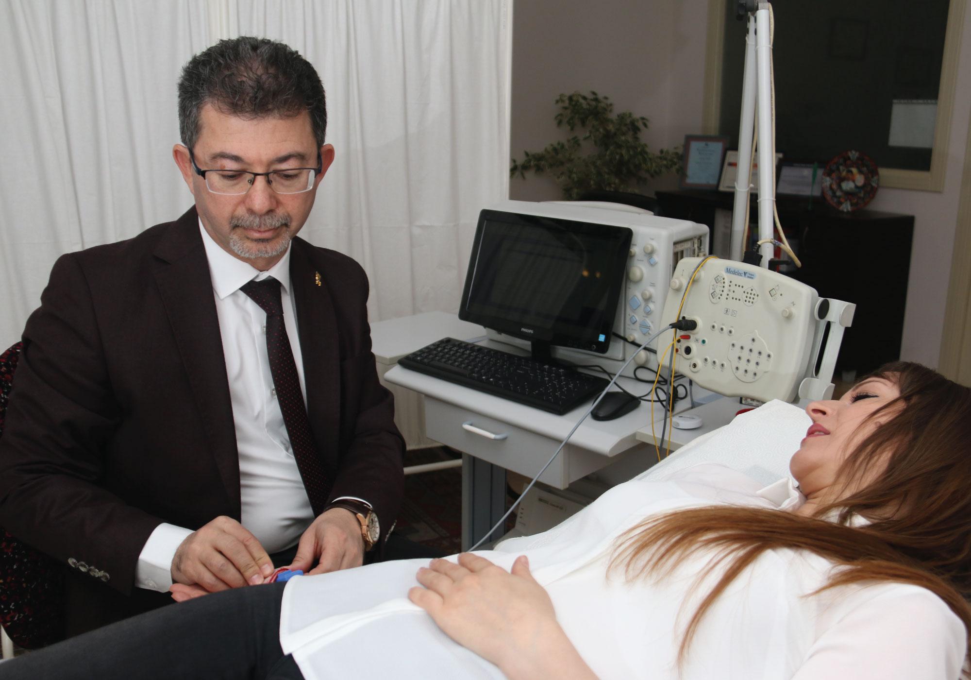 Prof. Dr. Necdet Karlı Muayene